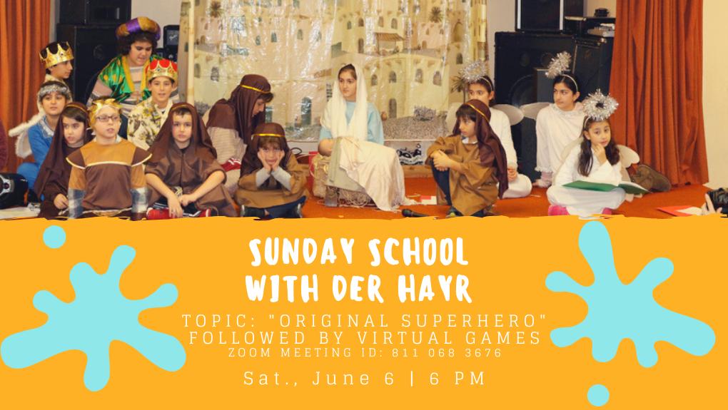 Sunday School with Der Hayr