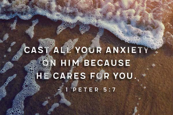 Sermon Anxiety 1 Peter 5:7