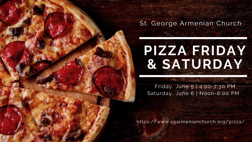 Pizza Friday & Saturday