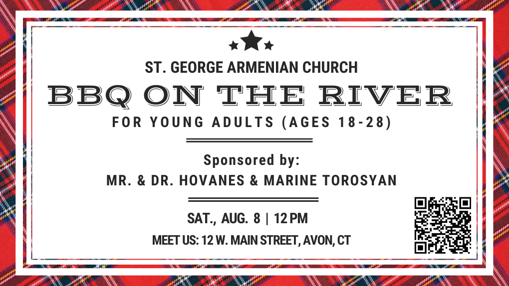 Armenian Church Youth Ministry BBQ on the River CT