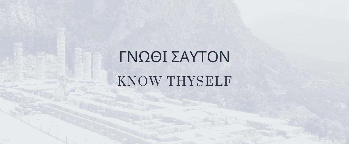 Know thyself identity faith