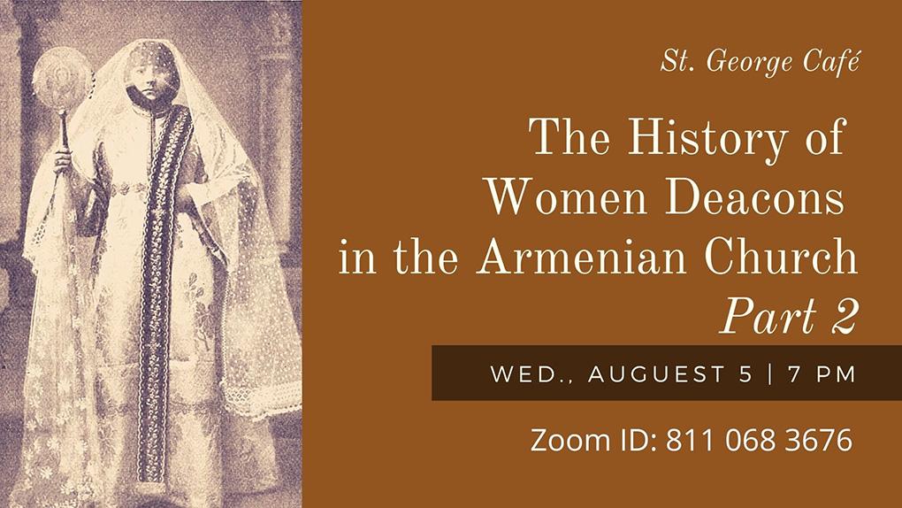 Women Deacons Armenian Church
