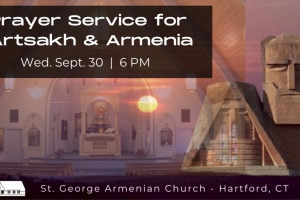 Prayer Service for Artsakh & Armenia