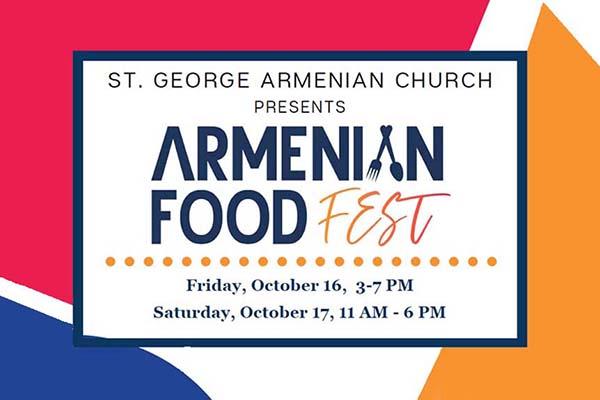 Armenian Food Fest