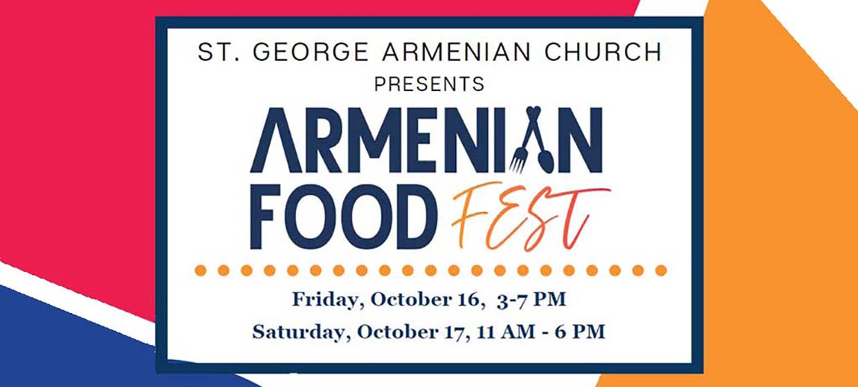 Food Fest St. George Armenian Church CT
