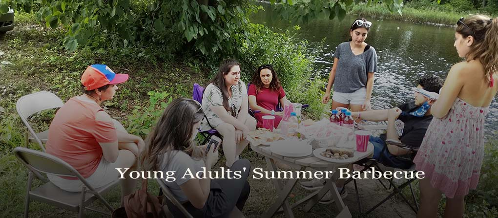 Young adult summer barbecue St. George Armenian Church Hartford CT