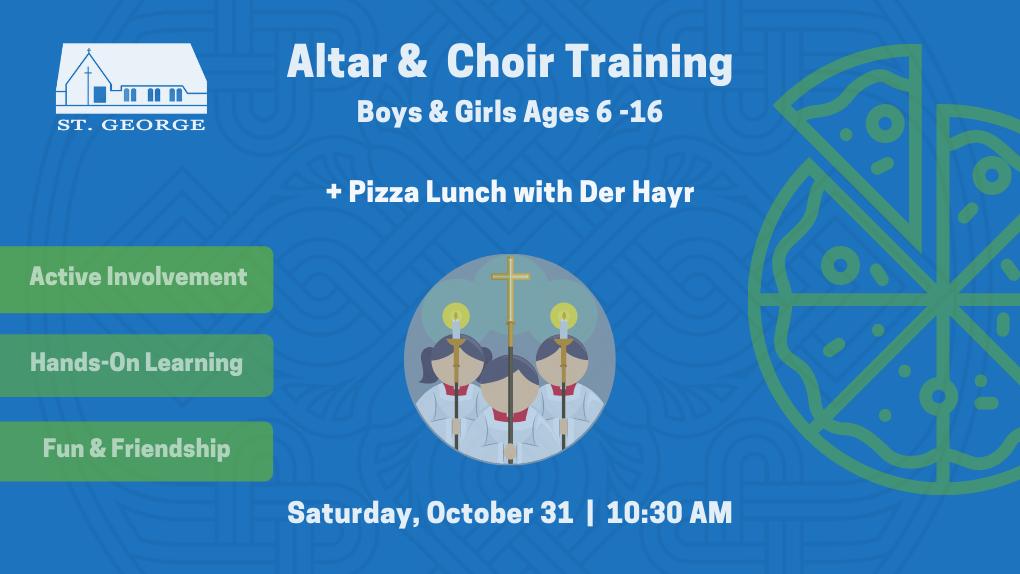 altar chor training