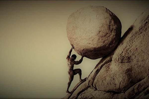 Sisyphus Moving on