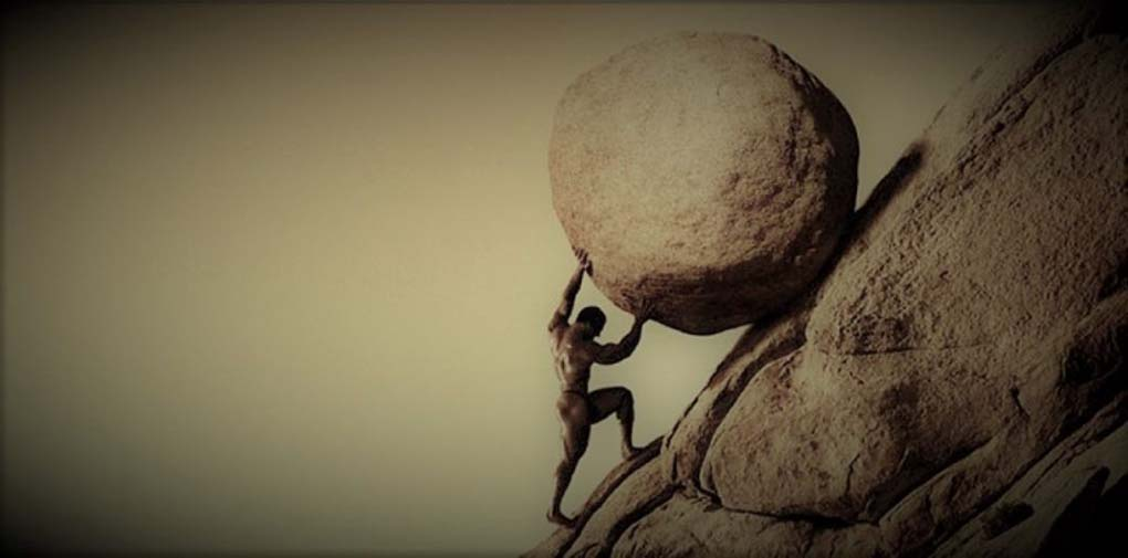Sisyphus Moving on
