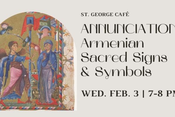 Annunciation Armenian Sacred Signs & Symbols