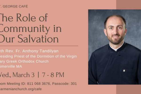 The role of community in our salvation