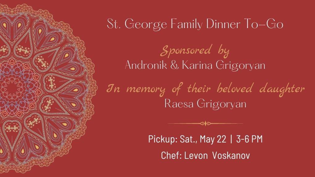 Grigoryan Dinner